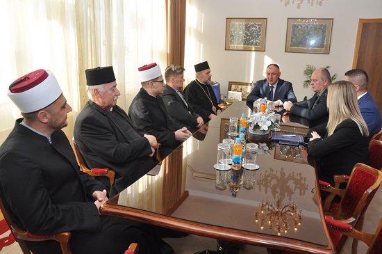 Gradonačelnik organizovao novogodišnji prijem za predstavnike vjerskih zajednica